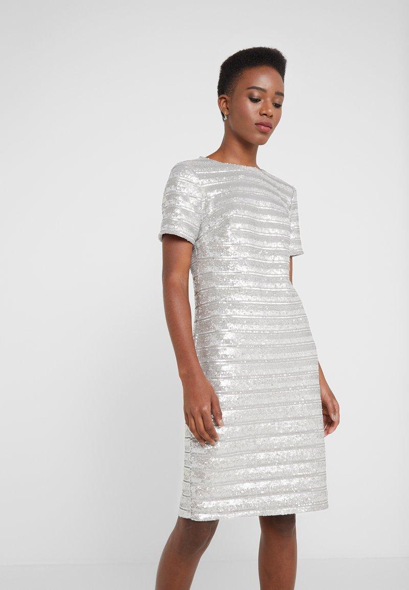 Lauren Ralph Lauren - SEQUIN DESMONDA - Cocktailkleid/festliches Kleid - modern silver