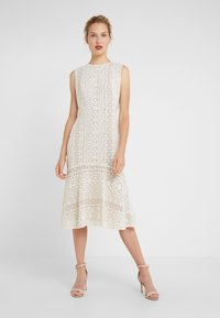 Lauren Ralph Lauren - BANZIA - Korte jurk - ivory - 0