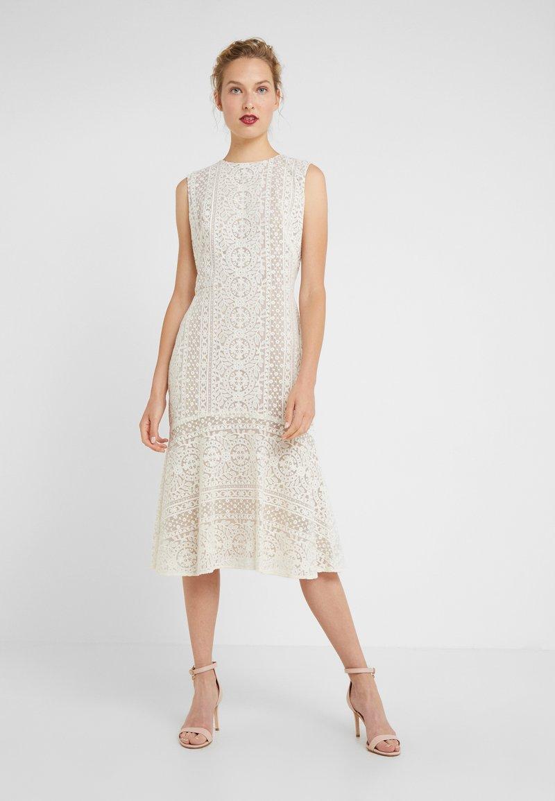Lauren Ralph Lauren - BANZIA - Korte jurk - ivory