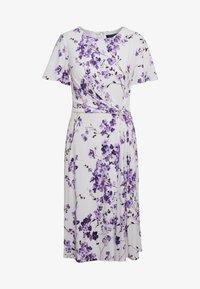 Lauren Ralph Lauren - VEMALYN - Sukienka z dżerseju - cream/purple - 3