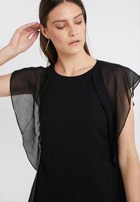 Lauren Ralph Lauren - CRINKLE OLOKUN - Kjole - black - 4