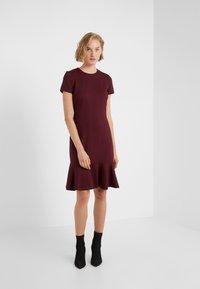 Lauren Ralph Lauren - MODERN PONTE  - Jerseyklänning - pinot noir - 1