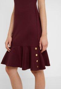 Lauren Ralph Lauren - MODERN PONTE  - Jerseyklänning - pinot noir - 5
