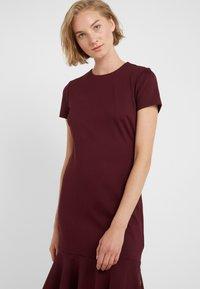 Lauren Ralph Lauren - MODERN PONTE  - Jerseyklänning - pinot noir - 3