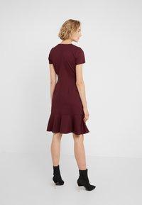Lauren Ralph Lauren - MODERN PONTE  - Jerseyklänning - pinot noir - 2