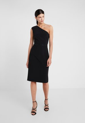 BONDED DRESS - Robe fourreau - black