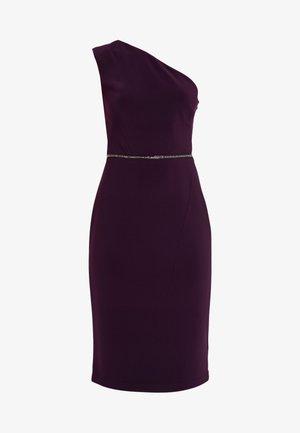 BONDED DRESS - Shift dress - raisin