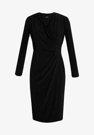 CLASSIC DRESS - Shift dress - black