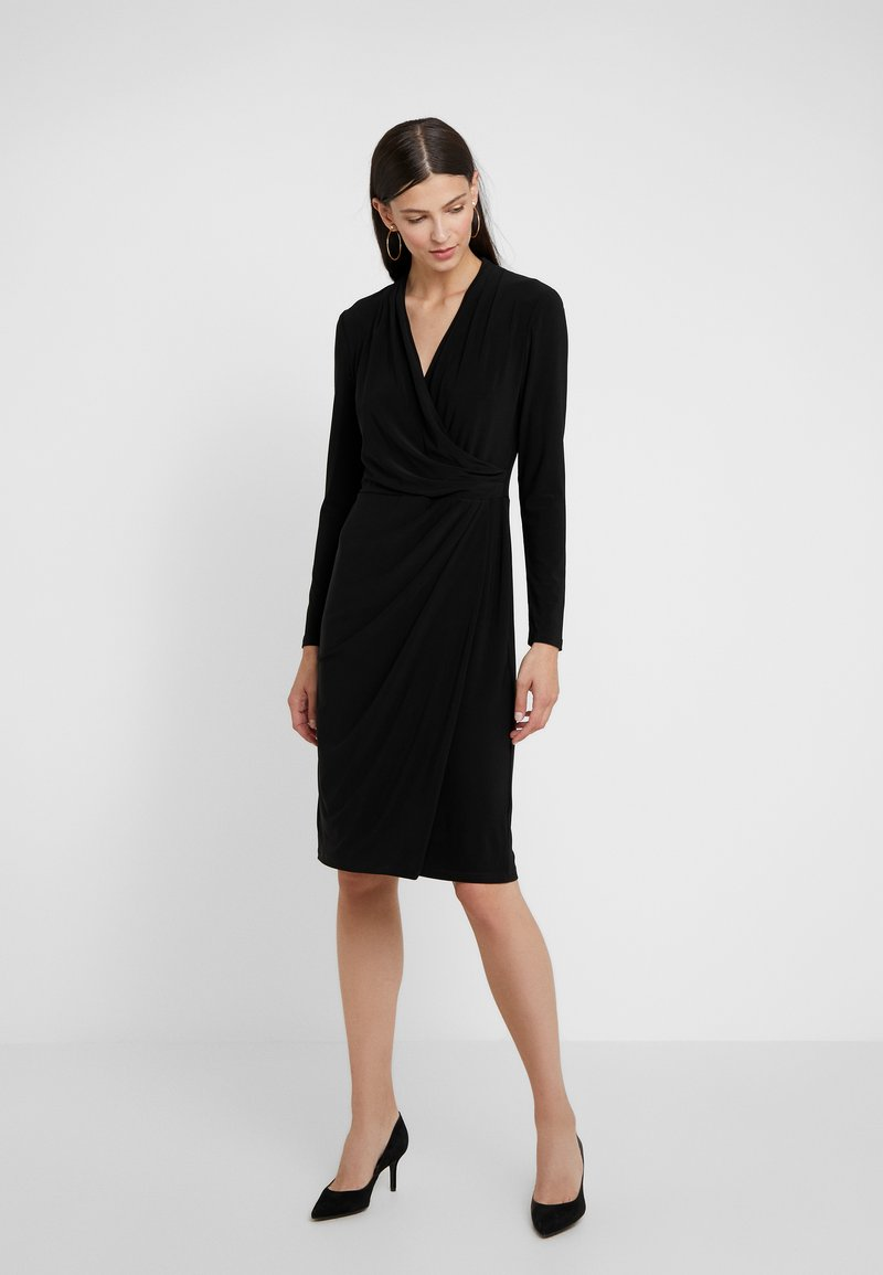Lauren Ralph Lauren - CLASSIC DRESS - Shift dress - black