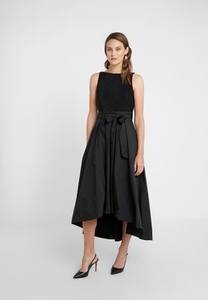 MEMORY TAFFETA LONG GOWN COMBO - Robe de cocktail - black