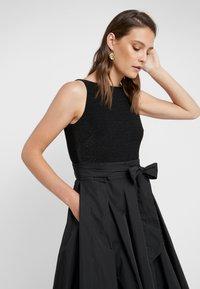 Lauren Ralph Lauren - MEMORY TAFFETA LONG GOWN COMBO - Occasion wear - black - 5
