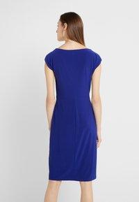 Lauren Ralph Lauren - MID WEIGHT DRESS - Fodralklänning - cannes blue - 2