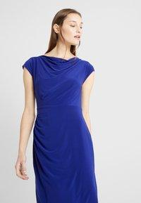 Lauren Ralph Lauren - MID WEIGHT DRESS - Fodralklänning - cannes blue - 5