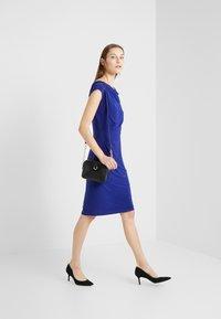 Lauren Ralph Lauren - MID WEIGHT DRESS - Fodralklänning - cannes blue - 1