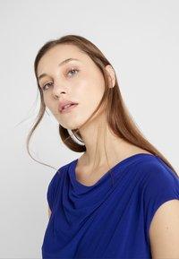 Lauren Ralph Lauren - MID WEIGHT DRESS - Fodralklänning - cannes blue - 3