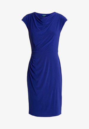 MID WEIGHT DRESS - Sukienka etui - cannes blue