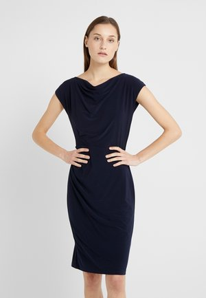 MID WEIGHT DRESS - Pouzdrové šaty - lighthouse navy