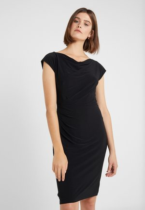 MID WEIGHT DRESS - Robe fourreau - black