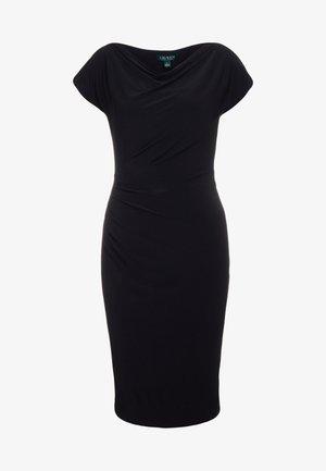 MID WEIGHT DRESS - Fodralklänning - black
