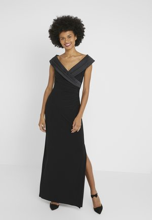 MID WEIGHT LONG GOWN COMBO - Abito da sera - black