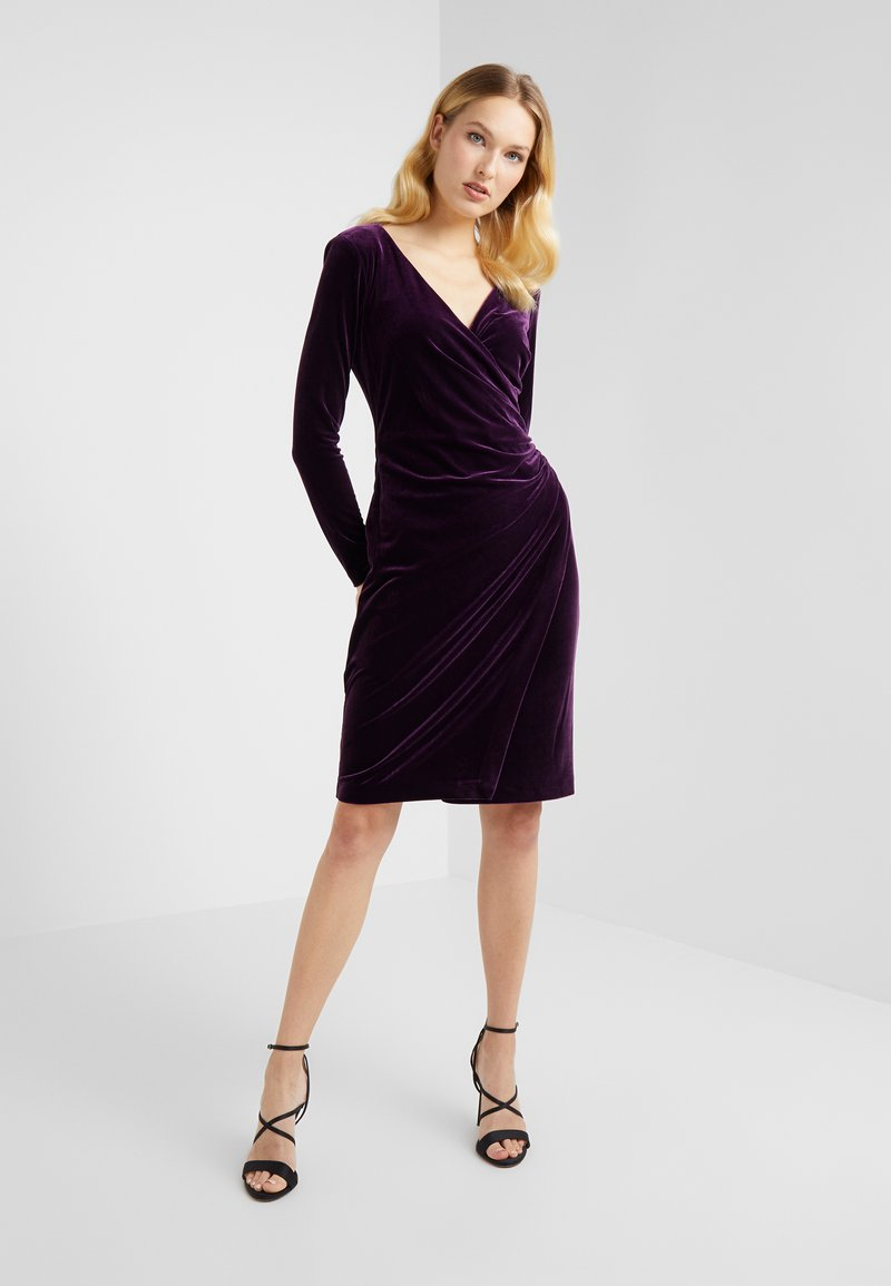 Lauren Ralph Lauren - RADIANT DRESS - Cocktail dress / Party dress - raisin