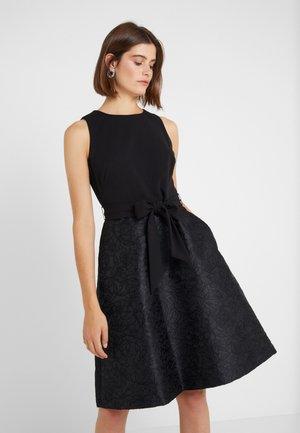 FLORAL  - Vestido de cóctel - black