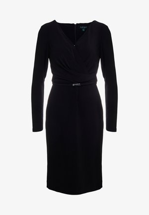 BONDED DRESS - Hverdagskjoler - black
