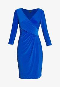 Lauren Ralph Lauren - MID WEIGHT DRESS - Shift dress - sapphire - 4