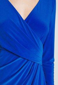 Lauren Ralph Lauren - MID WEIGHT DRESS - Shift dress - sapphire - 5
