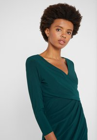 Lauren Ralph Lauren - MID WEIGHT DRESS - Shift dress - dark fern - 3