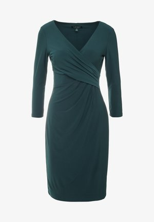 MID WEIGHT DRESS - Sukienka etui - dark fern