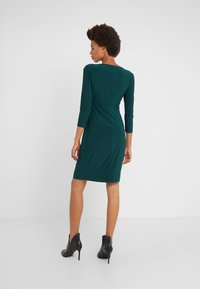 Lauren Ralph Lauren - MID WEIGHT DRESS - Shift dress - dark fern - 2