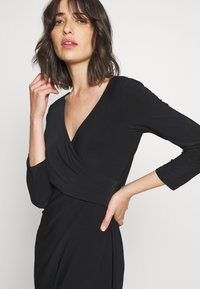 Lauren Ralph Lauren - MID WEIGHT DRESS - Shift dress - black - 3