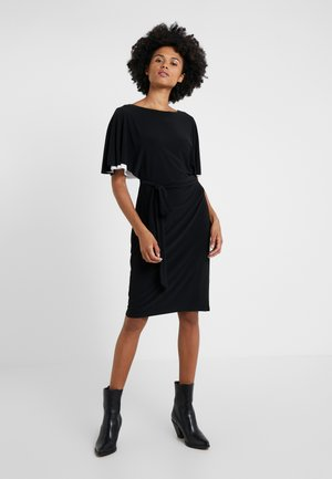 CLASSIC DRESS - Jerseyklänning - black