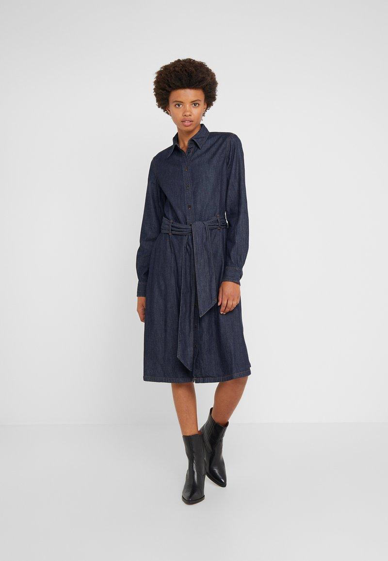 Lauren Ralph Lauren - ICON DRESS - Jeanskleid - dark rinse