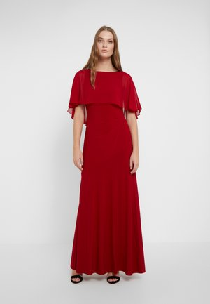 CLASSIC LONG GOWN COMBO - Galajurk - scarlet red