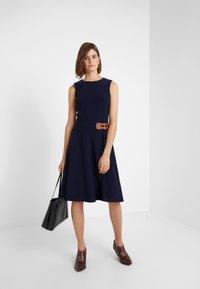 Lauren Ralph Lauren - BONDED DRESS TRIM - Jerseyjurk - lighthouse navy - 1
