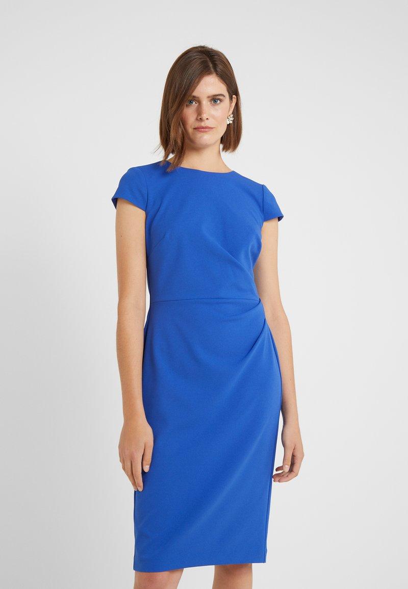Lauren Ralph Lauren - LUXE TECH CREPE DRESS - Robe fourreau - french blue