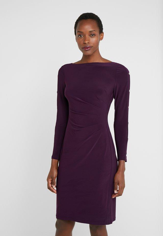 CLASSIC DRESS - Jerseyjurk - raisin