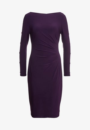 CLASSIC DRESS - Jerseykjole - raisin