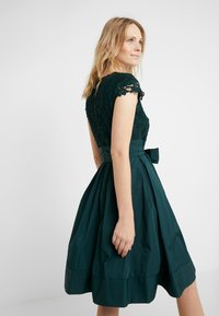 Lauren Ralph Lauren - MEMORY TAFFETA COCKTAIL DRESS - Cocktailjurk - dark fern - 2