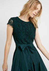 Lauren Ralph Lauren - MEMORY TAFFETA COCKTAIL DRESS - Cocktailjurk - dark fern - 5