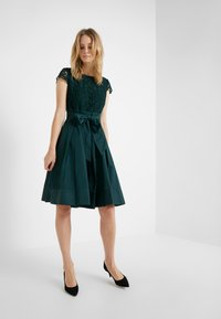 Lauren Ralph Lauren - MEMORY TAFFETA COCKTAIL DRESS - Cocktailjurk - dark fern - 1