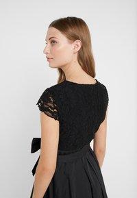 Lauren Ralph Lauren - MEMORY TAFFETA COCKTAIL DRESS - Cocktailjurk - black - 3