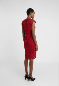 Lauren Ralph Lauren - LITCHFIELD DRESS - Vestido de cóctel - scarlet red - 2