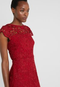 Lauren Ralph Lauren - LITCHFIELD DRESS - Vestido de cóctel - scarlet red - 3