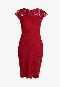 Lauren Ralph Lauren - LITCHFIELD DRESS - Vestido de cóctel - scarlet red - 4
