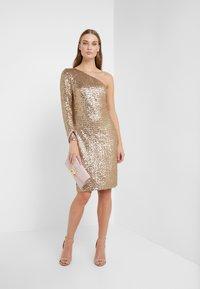 Lauren Ralph Lauren - Koktejlové šaty/ šaty na párty - white sand shine - 1