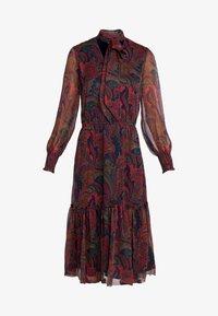 Lauren Ralph Lauren - CRINKLE DRESS - Vestido informal - navy/multi - 3