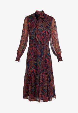 CRINKLE DRESS - Denní šaty - navy/multi